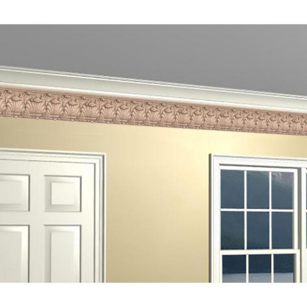 York Wallcoverings Victorian Baroque Sepia Prepasted Wallpaper