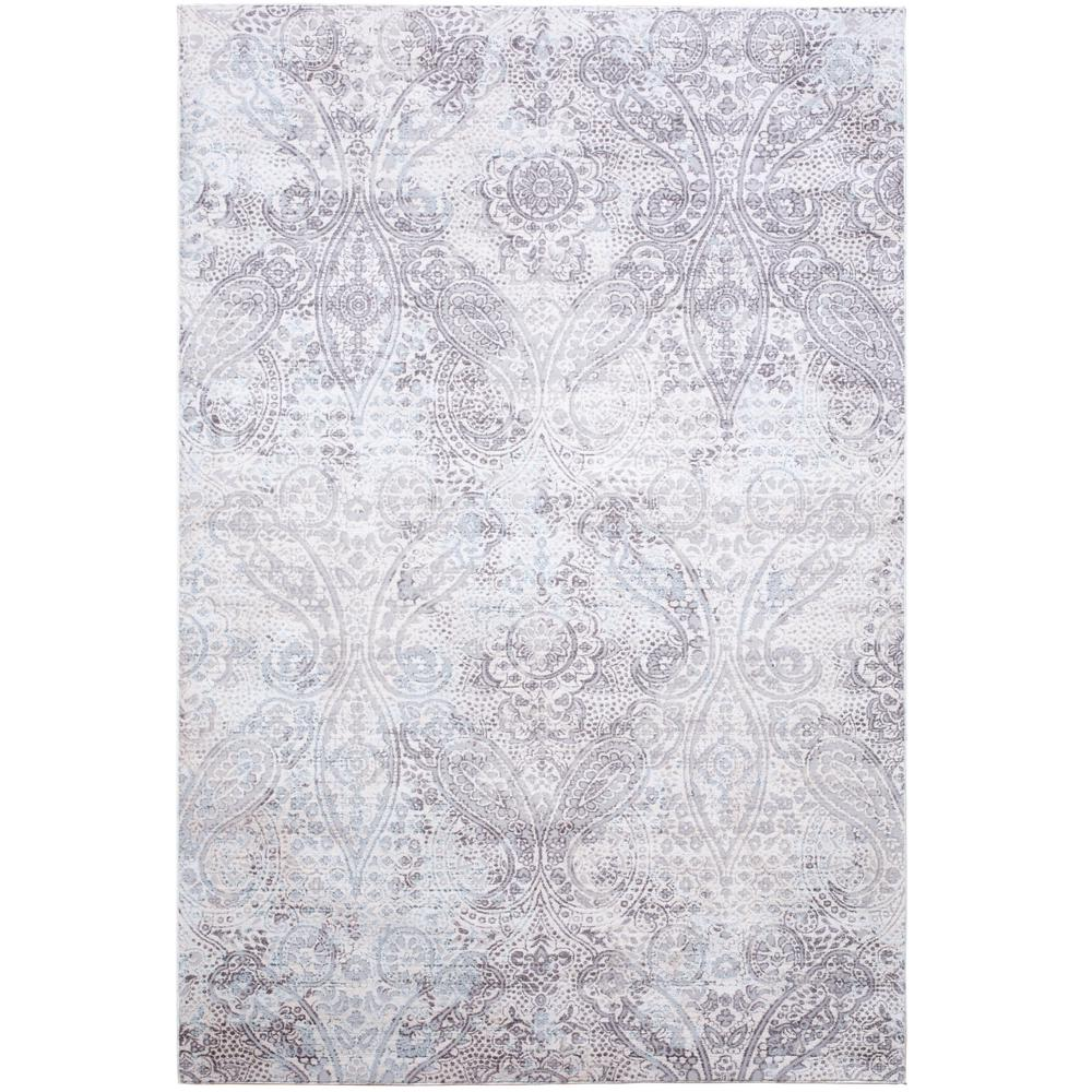Brooksville Ivory/Gray 8 ft. x 10 ft. Indoor Area Rug