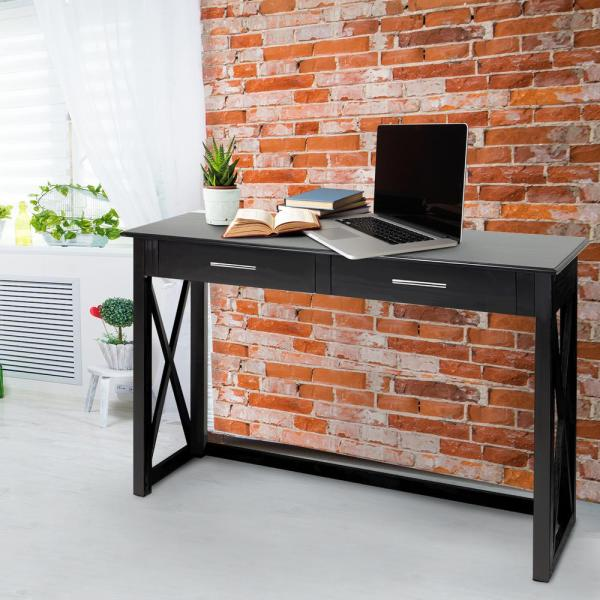Casual Home Bay View Black Console Table 363-62