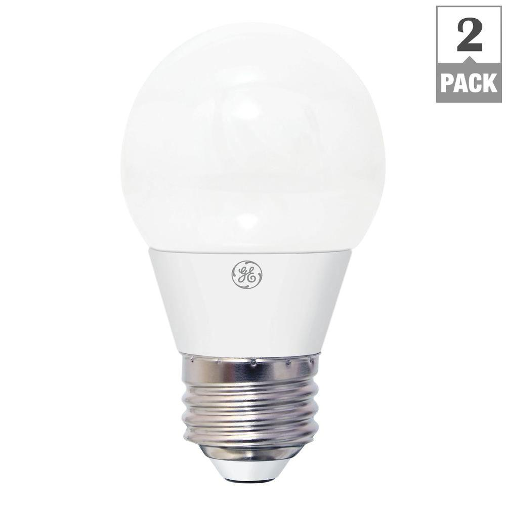 GE 40W Equivalent Daylight A15 Clear Ceiling Fan LED Light Bulb (2-Pack) - GE 40W Equivalent Daylight A15 Clear Ceiling Fan LED Light Bulb (2