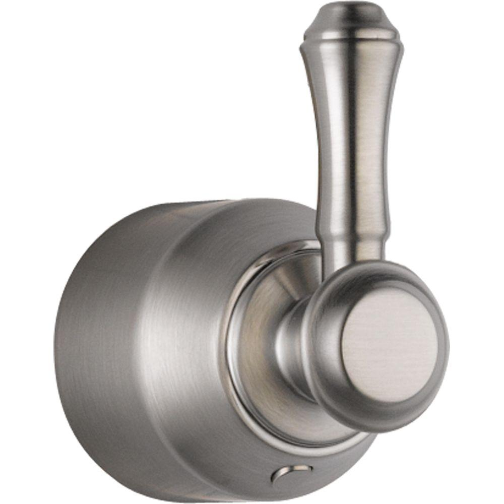 Genial Delta Cassidy Hand Shower/Diverter Valve Metal Lever Handle In Stainless