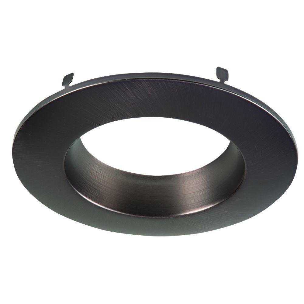 RL 4 in. Tuscan Bronze Recessed Lighting Retrofit Replaceable Trim Ring