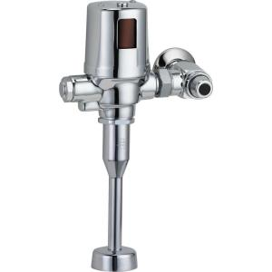 Delta Exposed Battery-Operated Flush Valve in Chrome by Delta