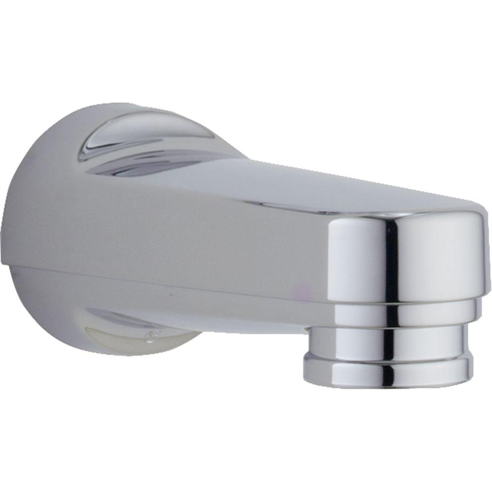 with shop bathtub diverter spout slip fit com pd delta chrome lowes tub at