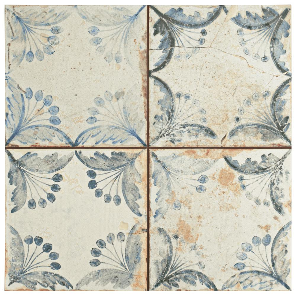 Merola Tile Oldker 13 In X 13 In Ceramic Floor And Wall Tile 122