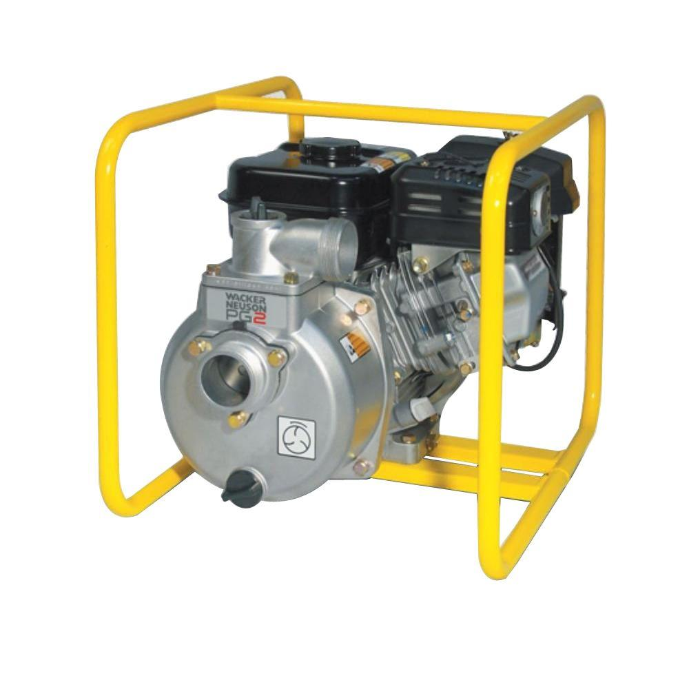 Wacker 3.5 HP 2 in. Centrifugal Pump with Honda Engine