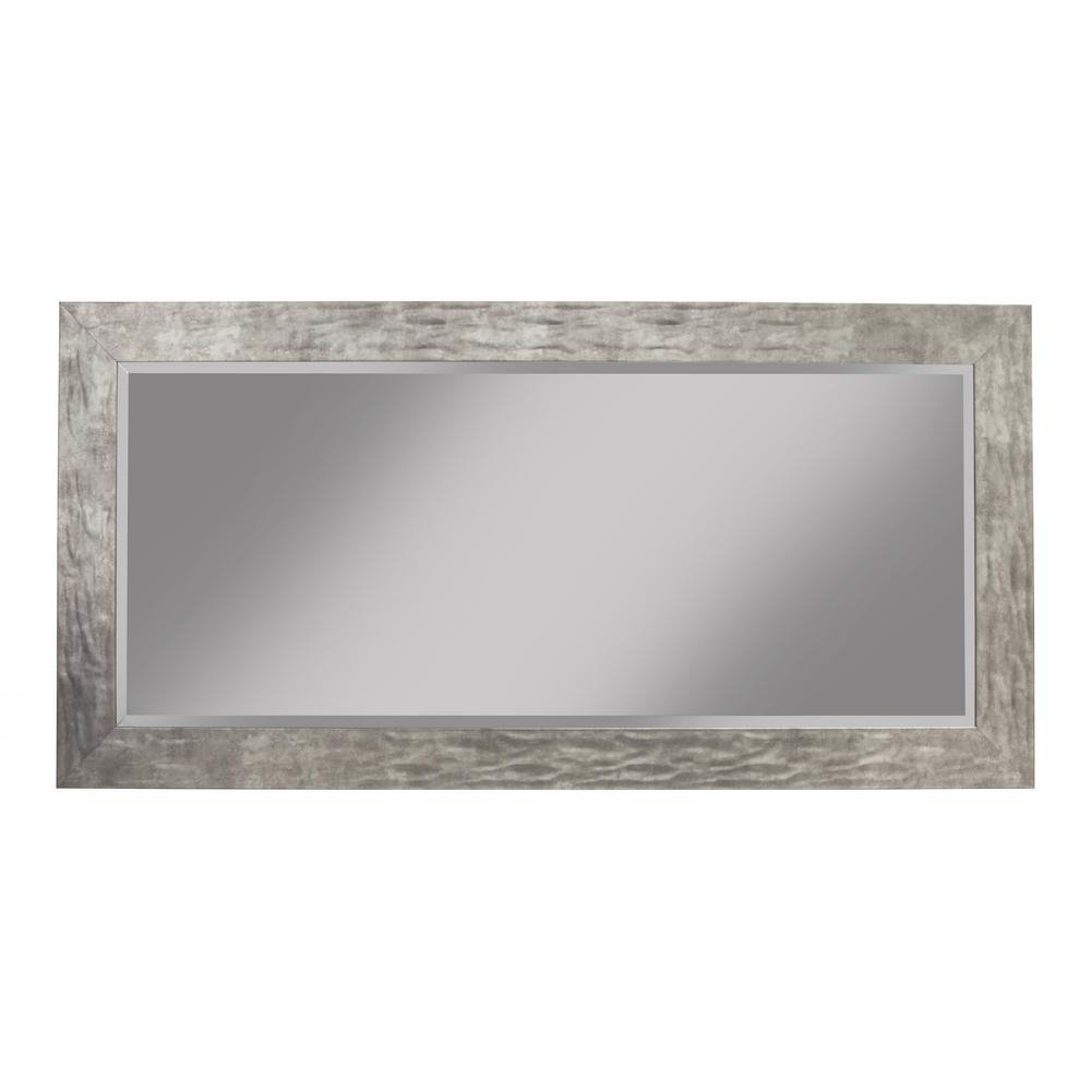 Martin Svensson Home Oversized Metal Plastic Beveled Glass Full Length Modern Mirror 65 In H X 31 In W 19411 The Home Depot