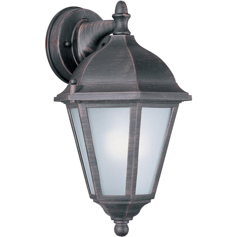 Maxim Lighting Westlake EE-Outdoor Wall Mount Sconce Westlake EE is a transitional style, energy saving collection from Maxim Lighting International in Black or Rust Patina finish.