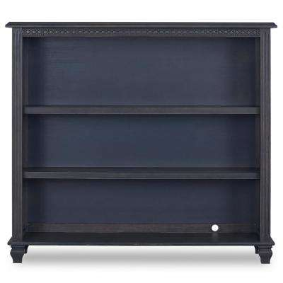 Madison Weathered Grey Adjustable Bookcase