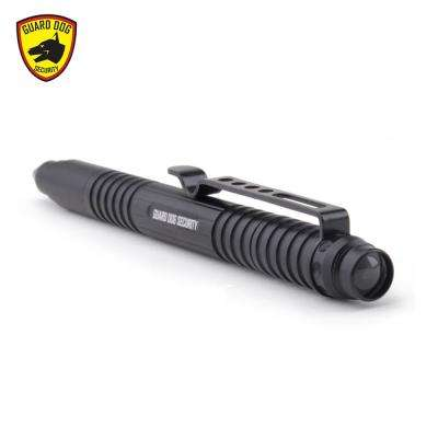 Type III Aluminum Body with Tungsten Steel Pressure Tip 30-Lumen Tactical Flashlight, Black