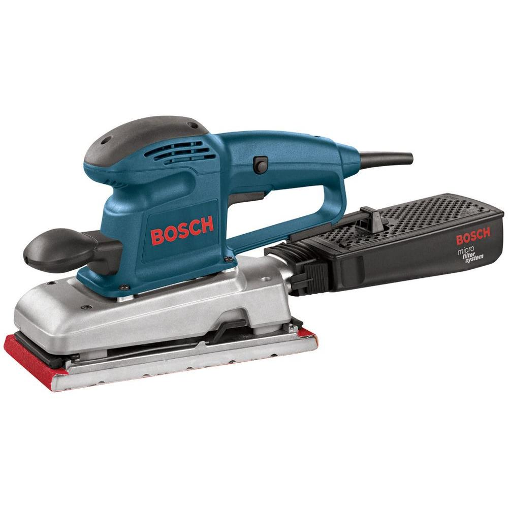 Bosch 1/2 Sheet Finishing Sander with Micro Filter Dust Collection
