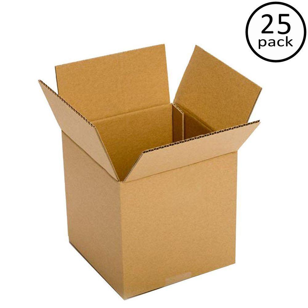 9 in. x 9 in. x 9 in. 25-Box Bundle