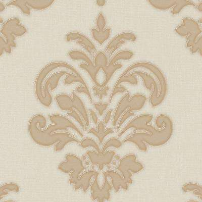 Gold and Neutral Olana Wallpaper