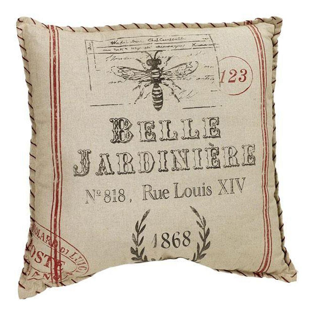 Home Decorators Collection French Flea Market Belle Jardiniere Pillow
