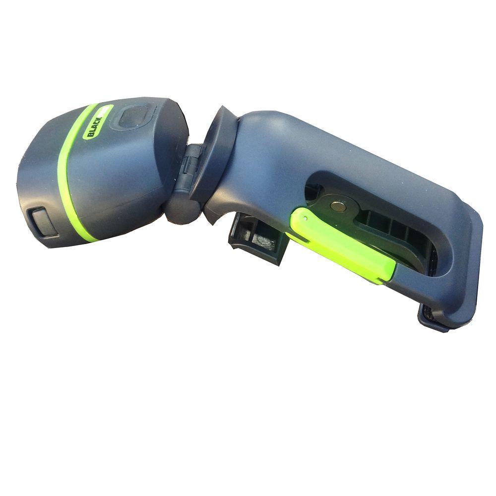 Firefly Clamplight LED Flashlight, Grey/Green