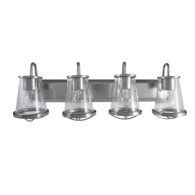 Georgina 4-Light Brushed Nickel Vanity Light