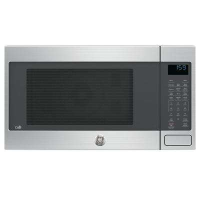 1.5 cu. ft. Countertop Convection Microwave Oven in Stainless Steel