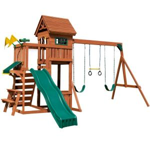 Swing N Slide Playsets Playful Palace Wood Complete