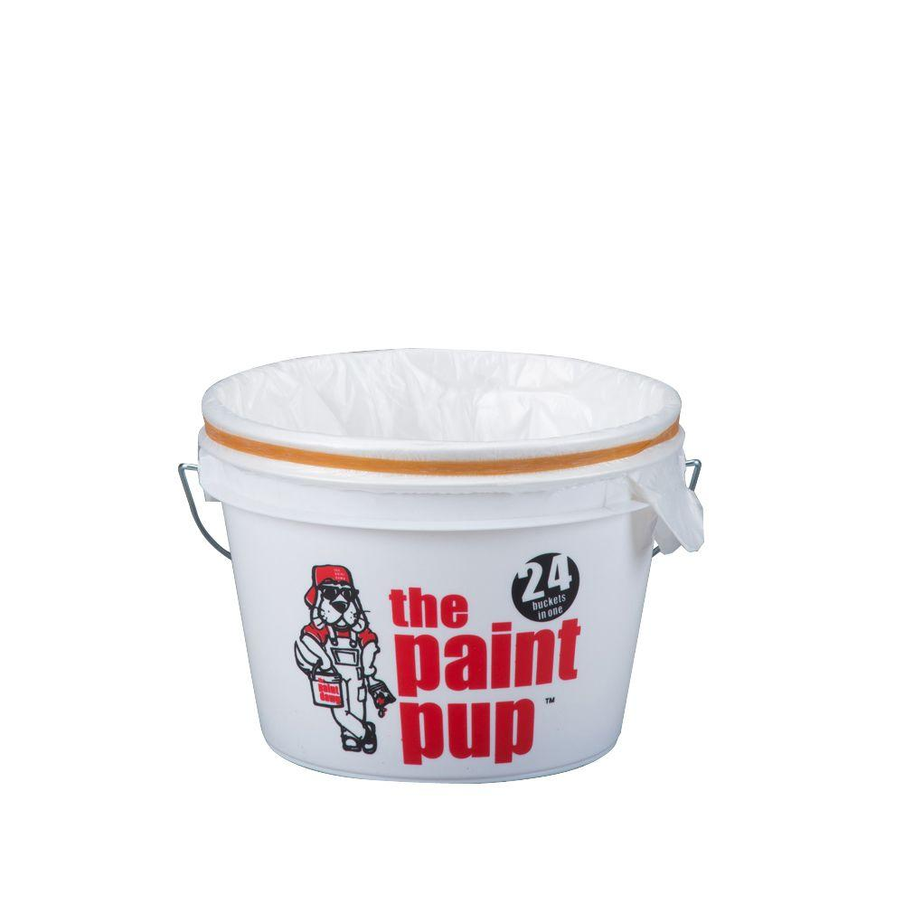 5-qt. Paint Pup with 24 Poly Liners