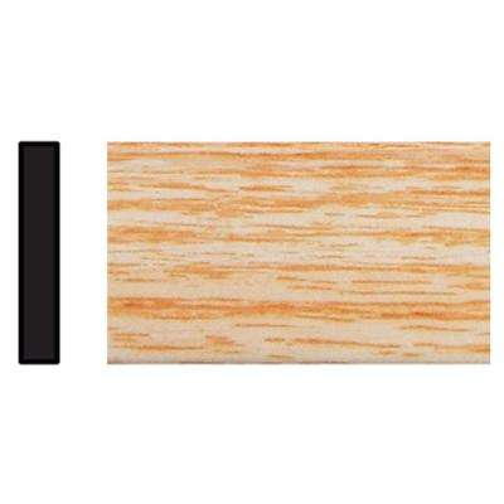 5/32 in. x 1-1/8 in. x 96 in. Polystyrene Clearwood Lattice Moulding
