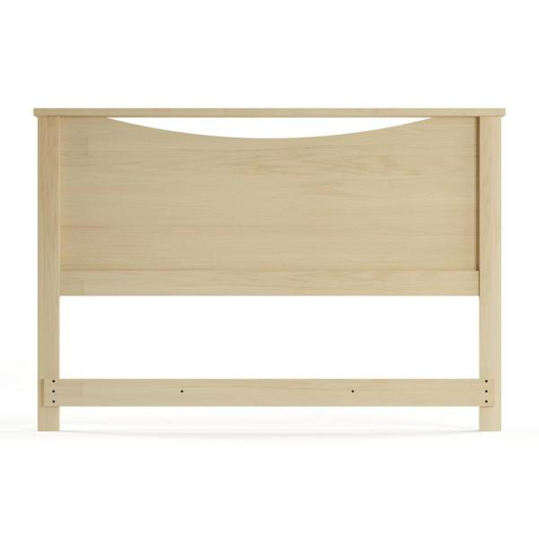 South Shore Step One Fullqueen Size Headboard In Natural Maple