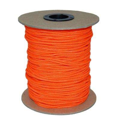 3/32 in. #3 Sidewall 300 ft. - Neon Orange