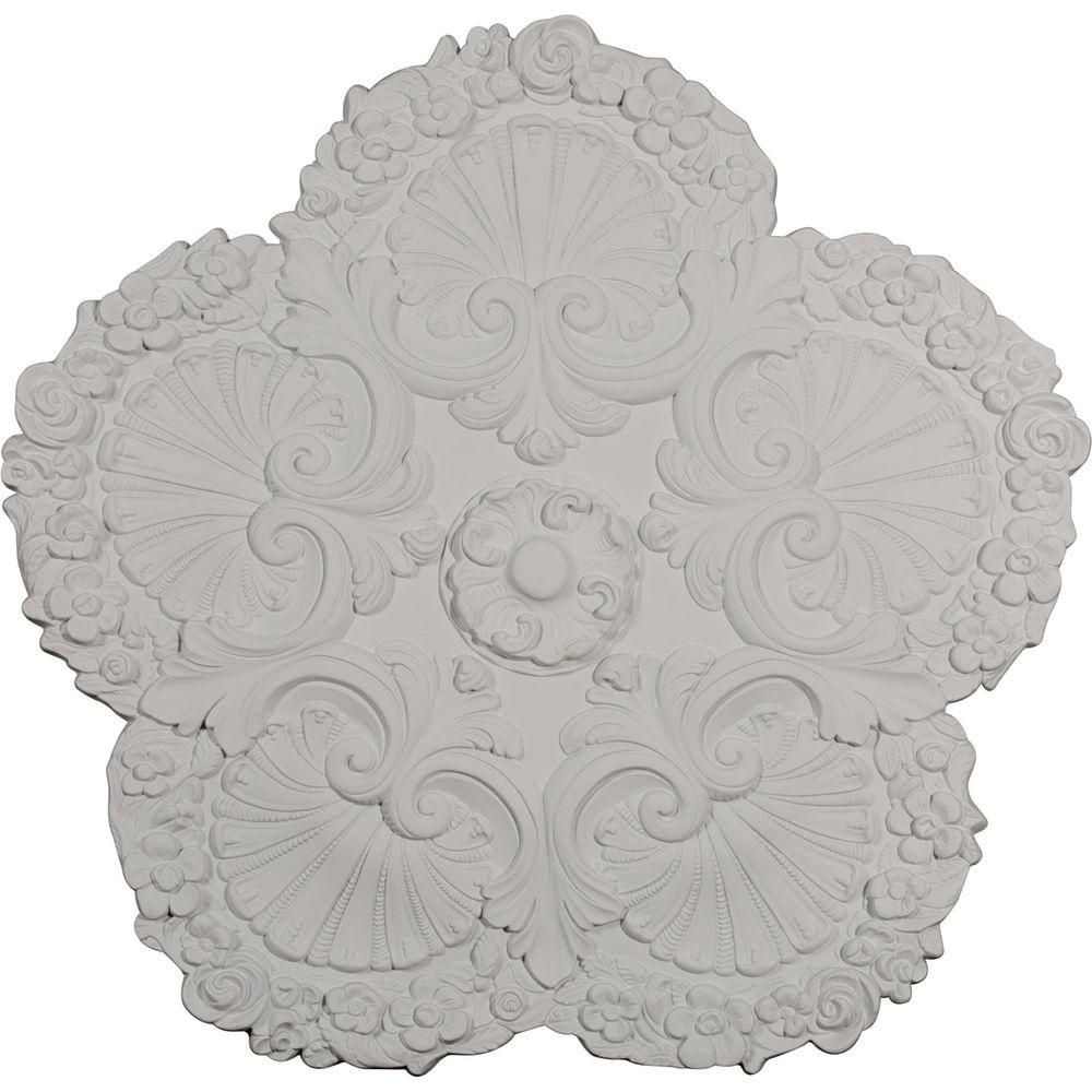 25-5/8 in. Shell Ceiling Medallion