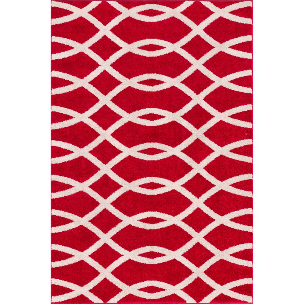 Well Woven Mystic Y Red 3 Ft X 5 Iron Links Lines And