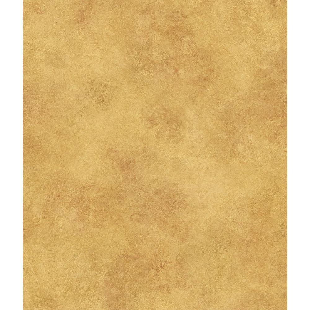 Scroll Copper Texture Wallpaper