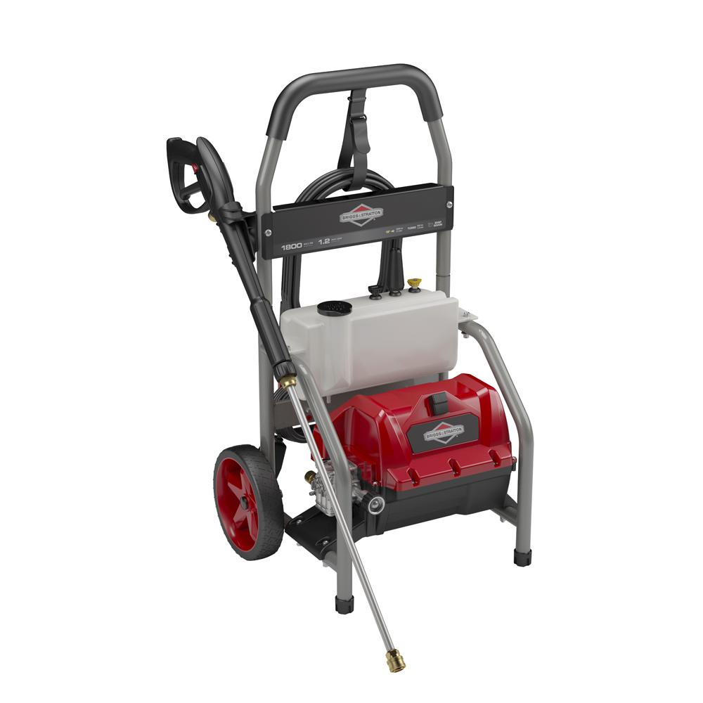 1800 Max psi, 1.2 Max GPM Electric Pressure Washer with Universal