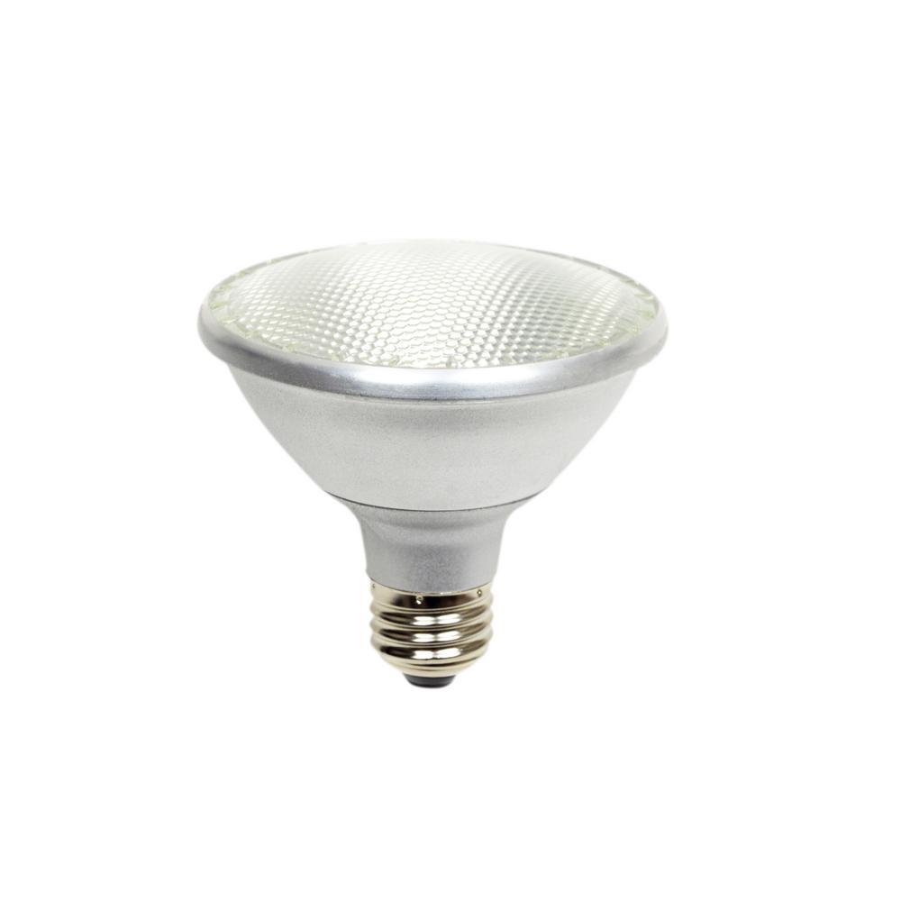 60-Watt Equivalent 10-Watt PAR30 Short Neck Dimmable LED Flood White Warm White Light Bulb 2700K 81961