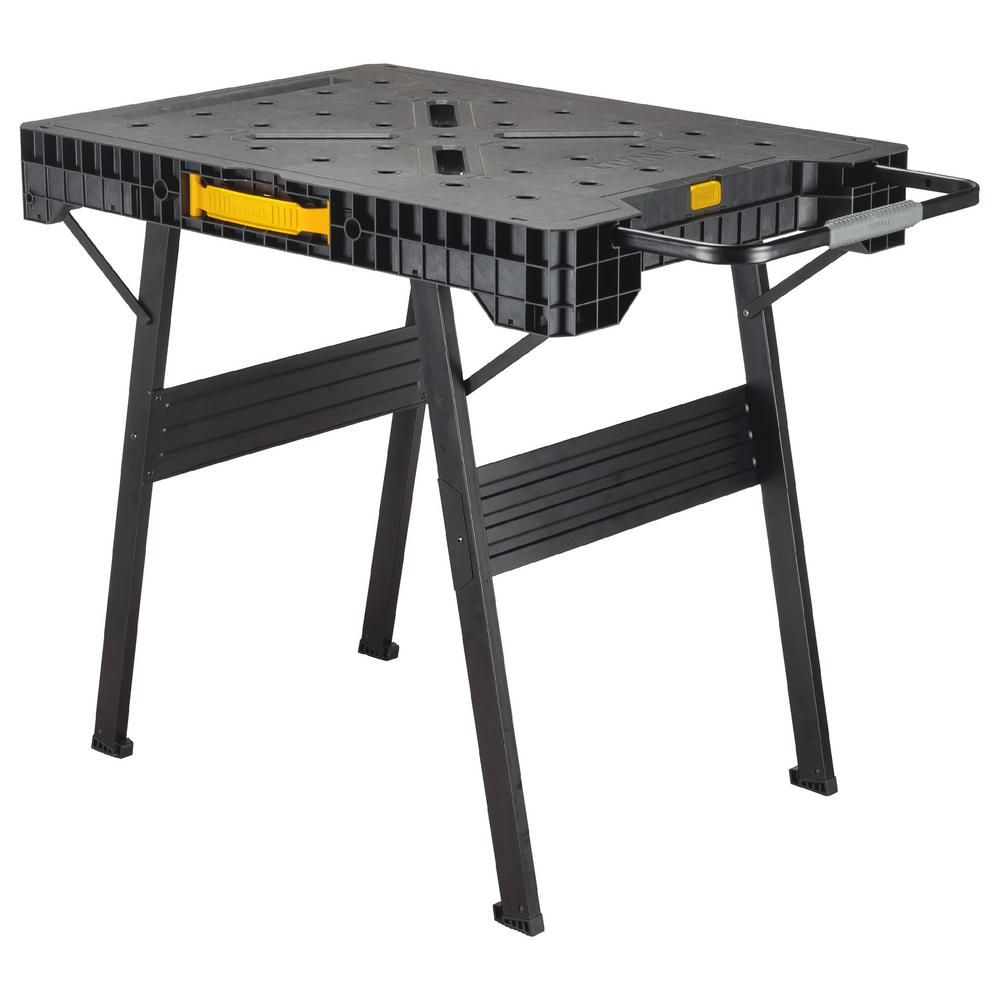 Dewalt 33 In Folding Portable Workbench Dwst11556 The Home Depot