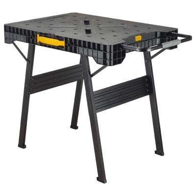 33 in. Folding Portable Workbench