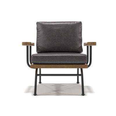 Aiden Upholstery Brown Accent chair