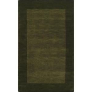 Foxcroft Olive 12 ft. x 15 ft. Indoor Area Rug