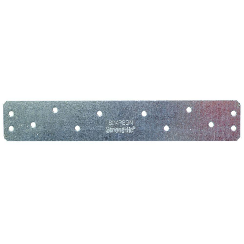 8 in. 12-Gauge Heavy Strap Tie
