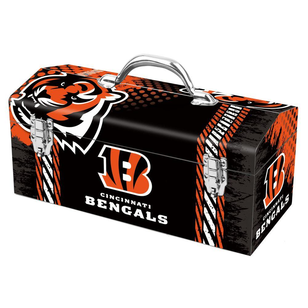 Team ProMark 7.2 in. Cincinnati Bengals NFL Tool Box