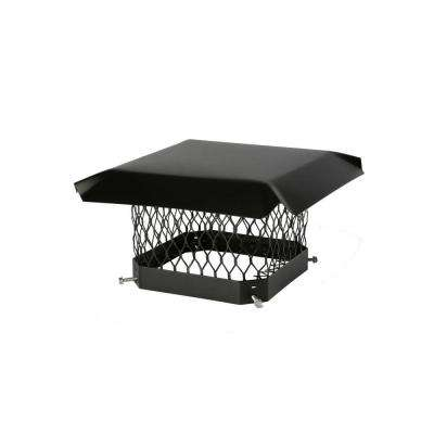 9 in. x 18 in. Mesh Chimney Cap in Galvanized Steel
