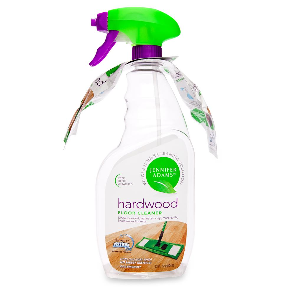23 oz. Hardwood Floor Cleaner Empty Bottle with 2 Tablets