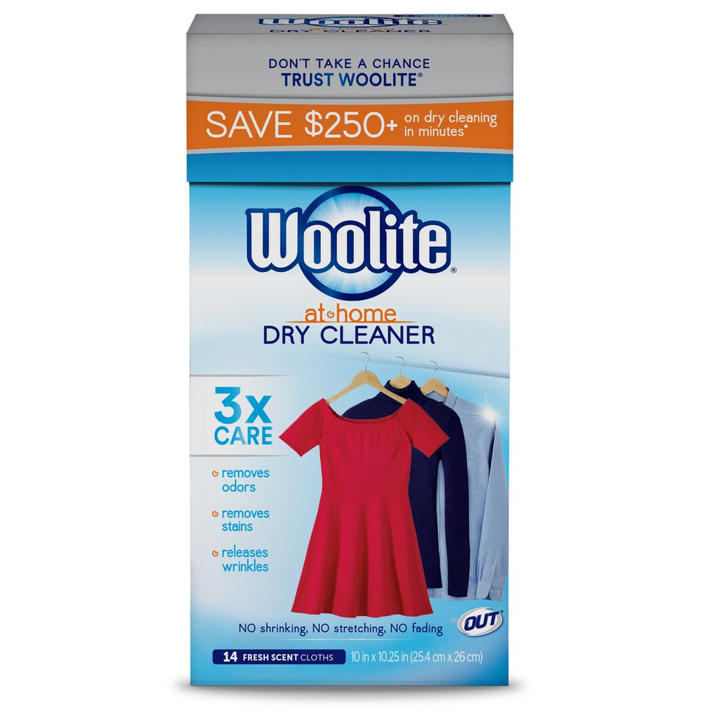 Woolite Fresh Scent At Home Dry Cleaner Dryer Sheets (14-Count)
