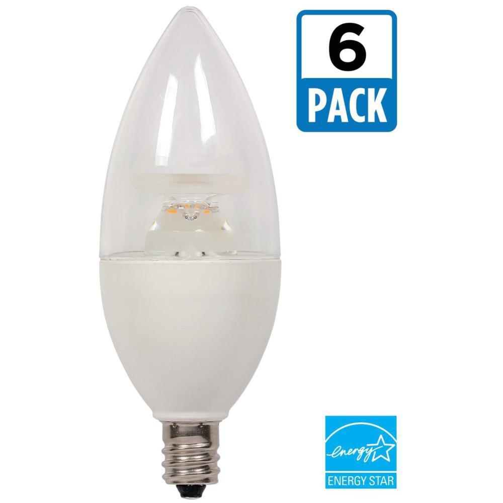 Bulbrite 40w Equivalent Warm White Light B11 Dimmable Led: Westinghouse 40W Equivalent Warm White B11 Dimmable LED