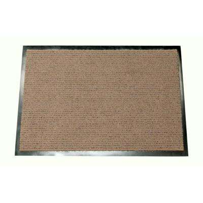 The Camel Beige 23.6 in. x 35.5 in. Door Mat