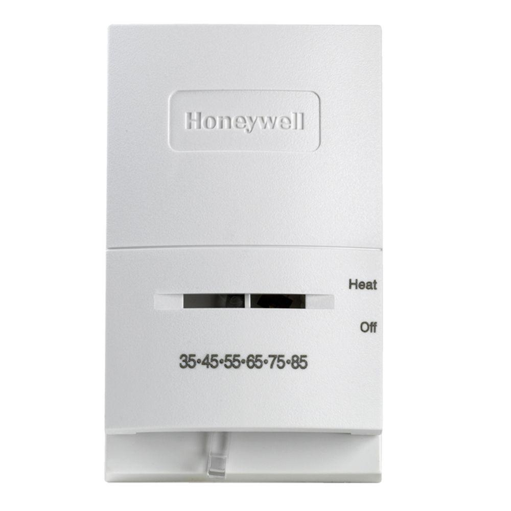 Honeywell Non Programmable Thermostats The Home Depot Pro 5000 Thermostat Wiring Diagram Ct50k Low Temperature