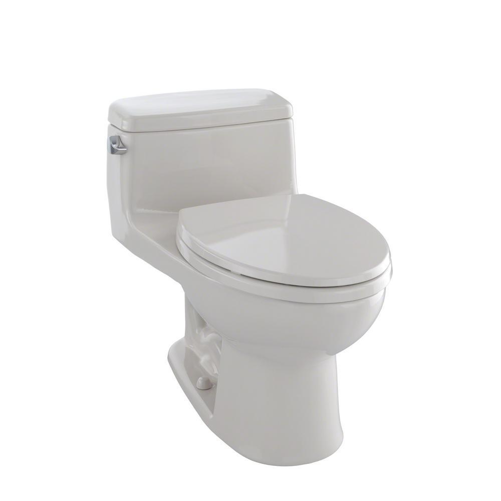 toto eco supreme 1 piece gpf single flush elongated toilet in sedona beige ms864114e 12. Black Bedroom Furniture Sets. Home Design Ideas