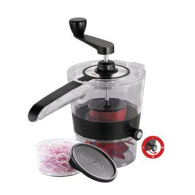 Spiral Slicer with 4 in. W Plus Collection Container