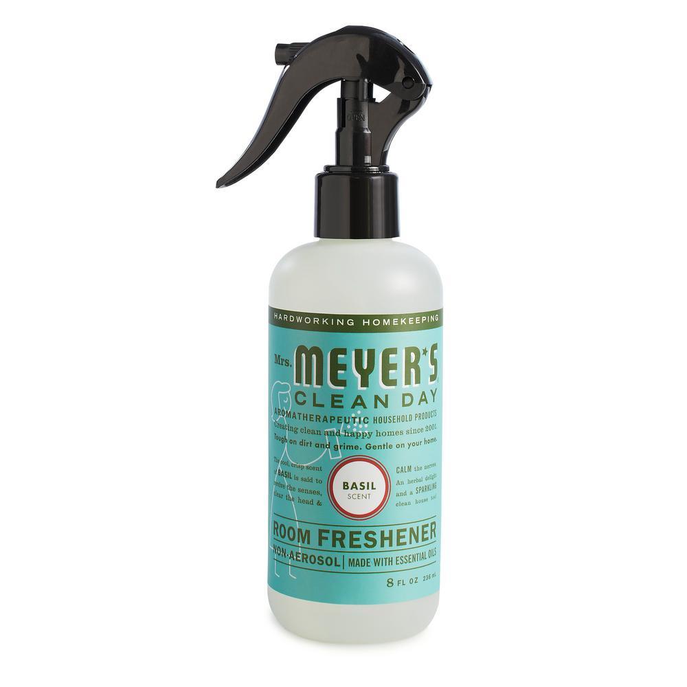 Mrs. Meyer's Clean Day 8 fl. Oz. Basil Room Freshener Spray