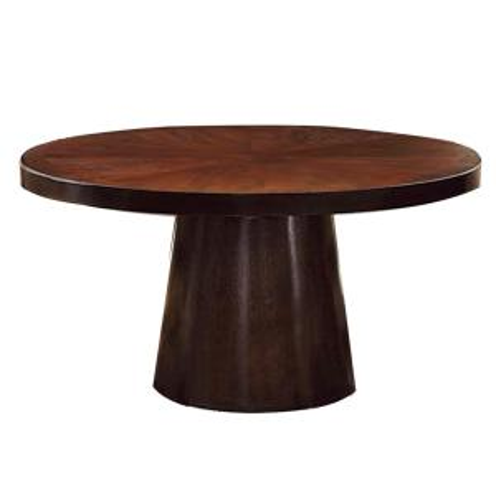 Havana Espresso Round Dining Table