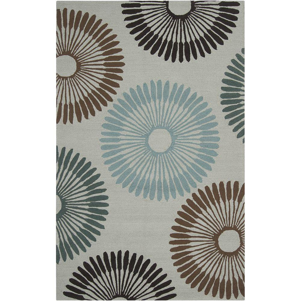 Artistic Weavers Purshia Pussywillow Gray 9 ft. x 12 ft. Area Rug