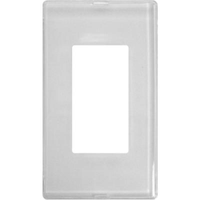 Paper-It 1 Gang Rocker Composite Wall Plate - Uses your Wallpaper