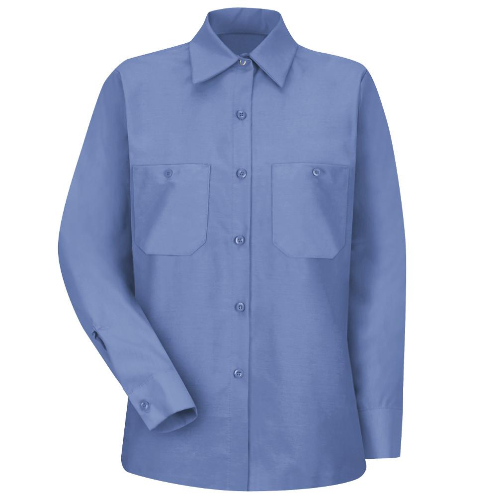9918c7f3 Red Kap Women's Size S Petrol Blue Industrial Work Shirt-SP13MB RG S ...